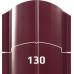 Штакетник металлический европланка 130 мм.